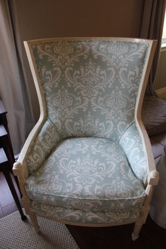 Sense & Serendipity   DIY Reupholstery Reveal, chair makeover, reupholstery