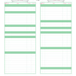 Budget Worksheet {Free Printable}