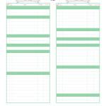 Budget Worksheet {Free Printable}