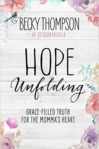 Read It: Hope Unfolding by Becky Thompson