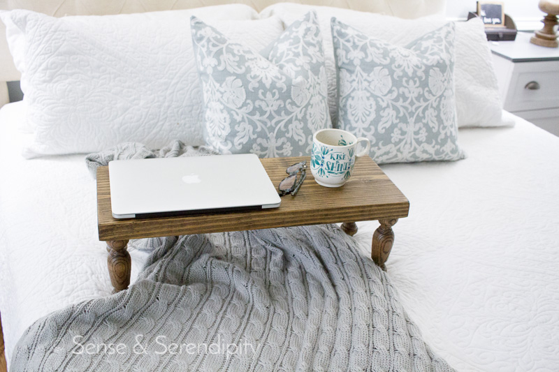 DIY Bed Tray