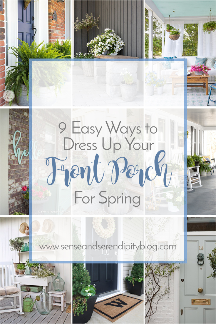 9 Easy Ways To Dress Up Your Front Porch For Spring Sense