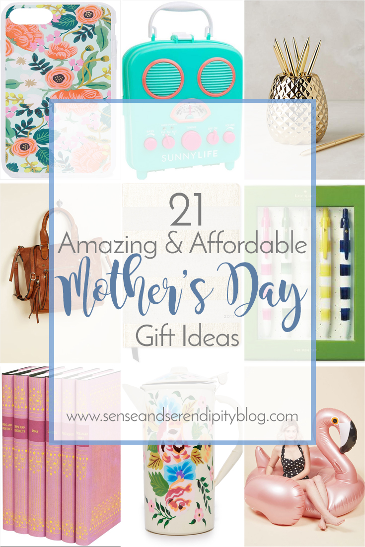 Sense & Serendipity | Mother's Day Gift Ideas, mother's day, gifts for every mom