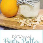 DIY Whipped Body Butter for Sensitive Skin