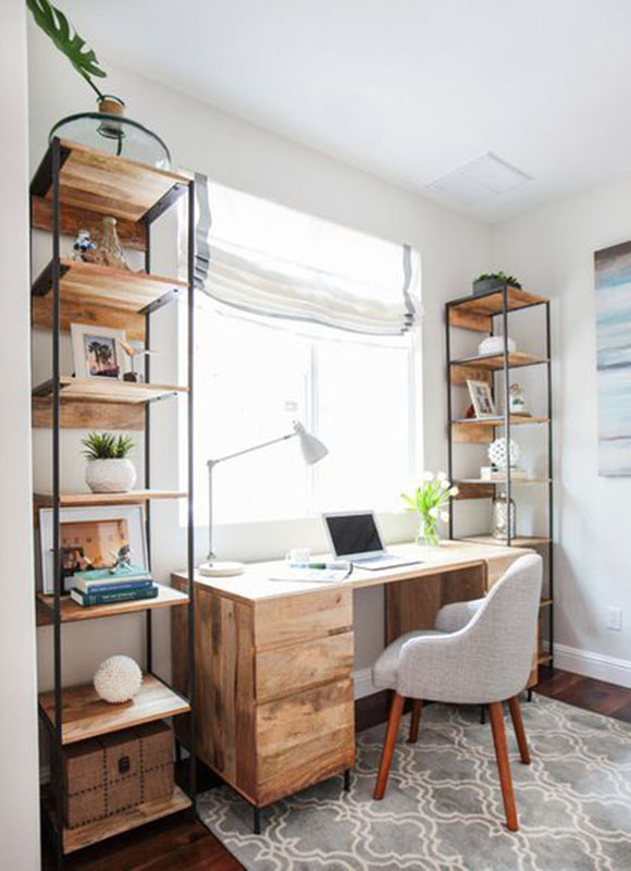 beautiful home office ideas. sense \u0026 serendipity | 12 beautiful home office ideas for small spaces, e