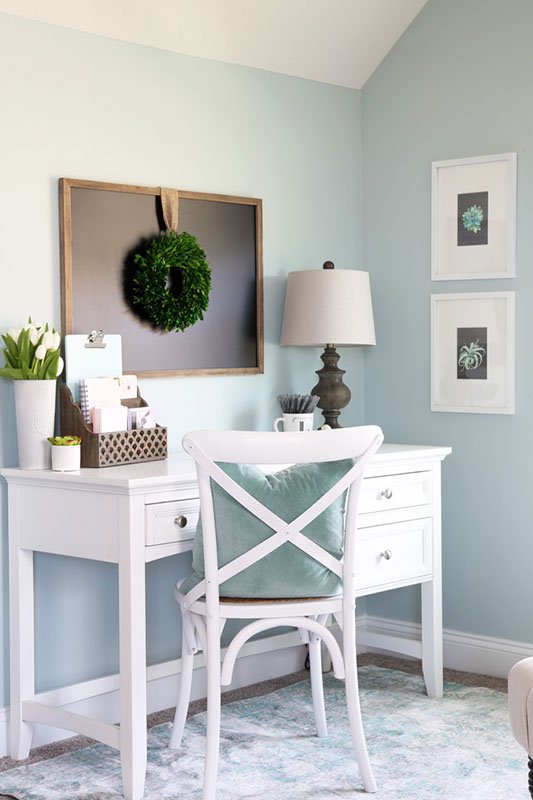 12 Beautiful Home Office Ideas for Small Spaces - Sense & Serendipity