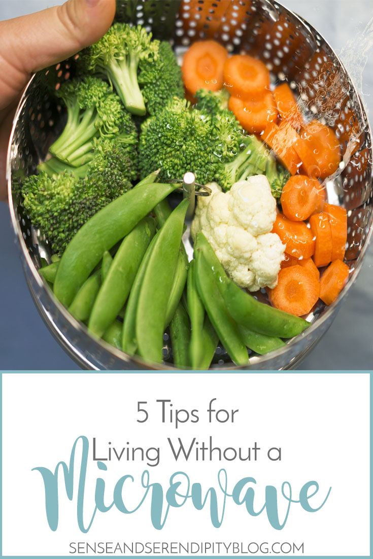 5 Tips for Living Without Microwave | Sense & Serendipity