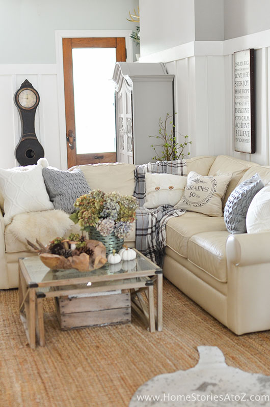 Room by Room Fall Decor Living Room | Sense & Serendipity