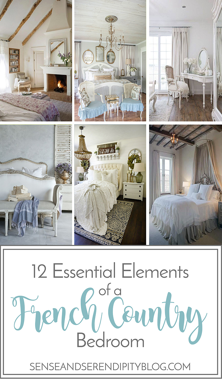 12 Essential Elements Of A French Country Bedroom | Sense U0026 Serendipity