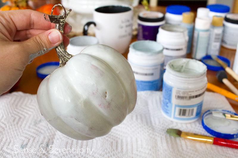 DIY Painted Pumpkins   Sense & Serendipity