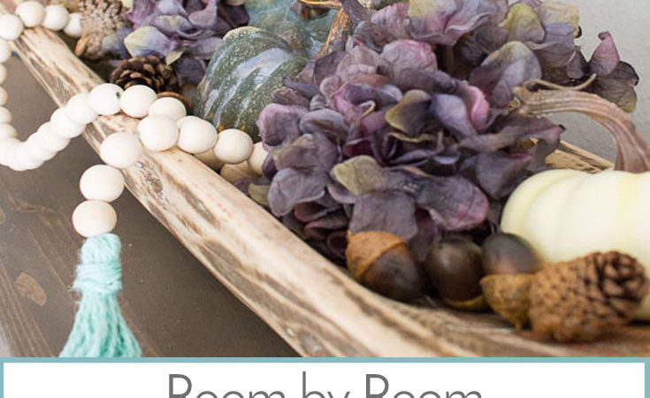 Room by Room Fall Decor: Bedrooms & Bathrooms