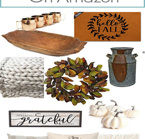Affordable Fall Decor Finds on Amazon