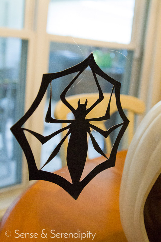DIY Shadowbox Jack-o-Lantern | Sense & Serendipity