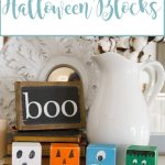 Kid Friendly Halloween Blocks