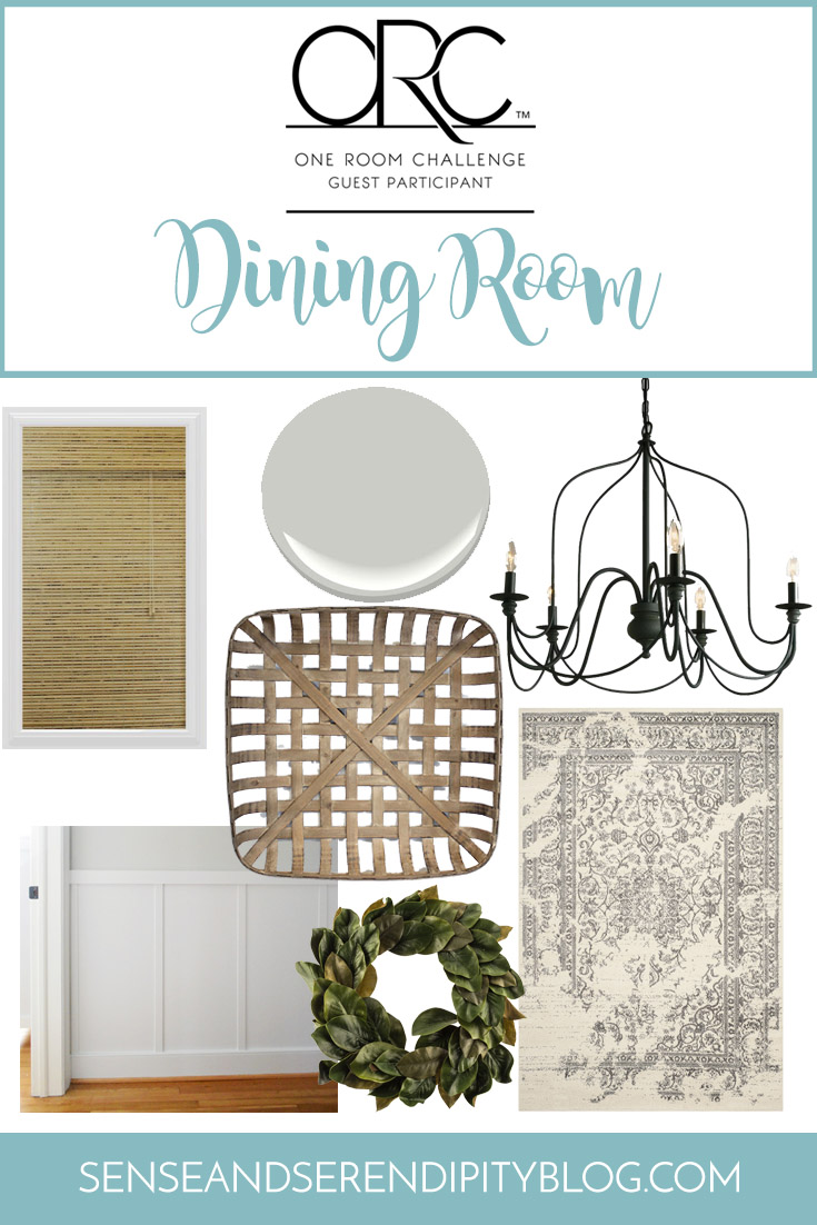 ORC Dining Room Plan | Sense & Serendipity