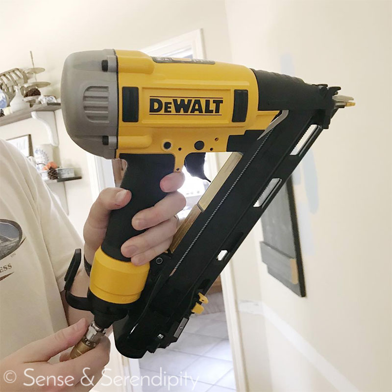 ORC Week 3, Fun with Nail Guns | Sense & Serendipity