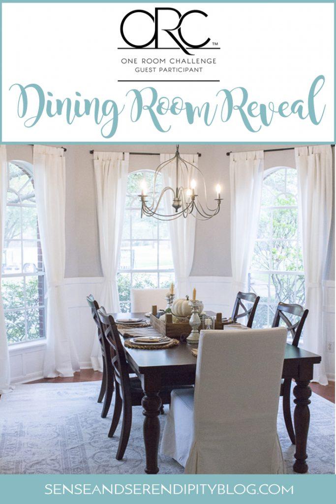 One Room Challenge, Week 6: Dining Room Reveal