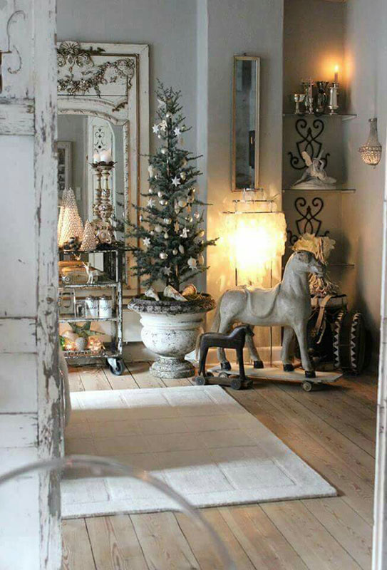 french country christmas inspiration sense serendipity. Black Bedroom Furniture Sets. Home Design Ideas