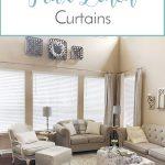 DIY Faux Linen Curtains
