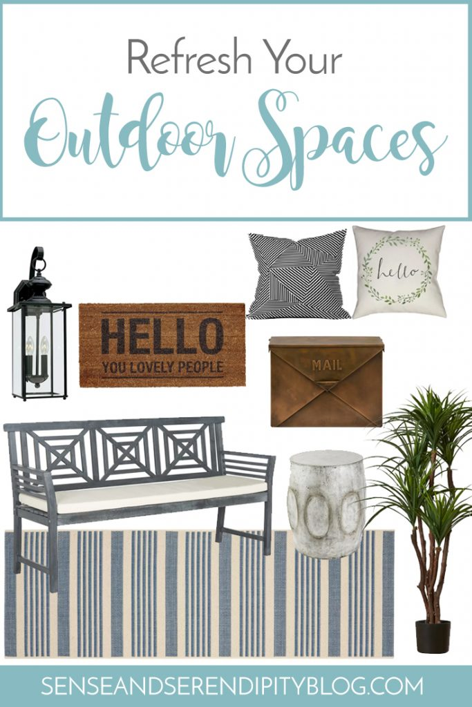 Refresh Your Outdoor Spaces | Sense & Serendipity