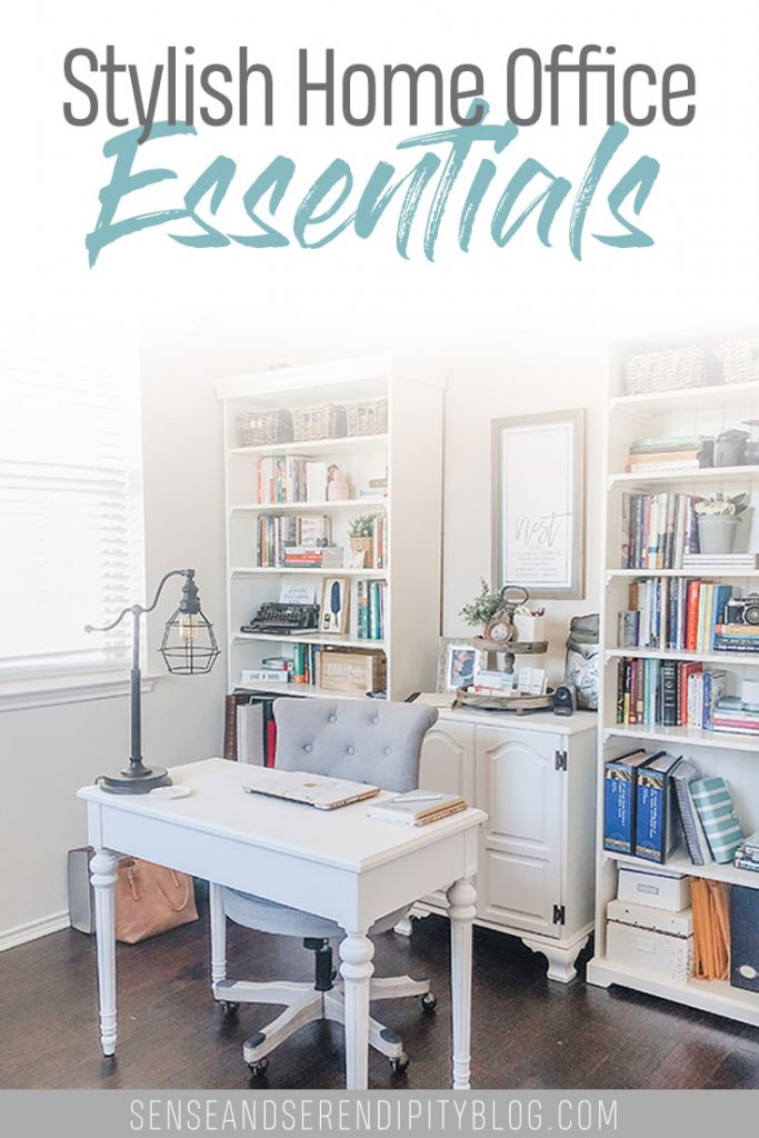 Stylish Home Office Essentials | Sense & Serendipity