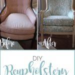 DIY Reupholstery, Part 3: Reveal