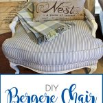 DIY: Bergere Chair Makeover