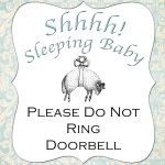 Naptime Project: Baby Sleeping Sign
