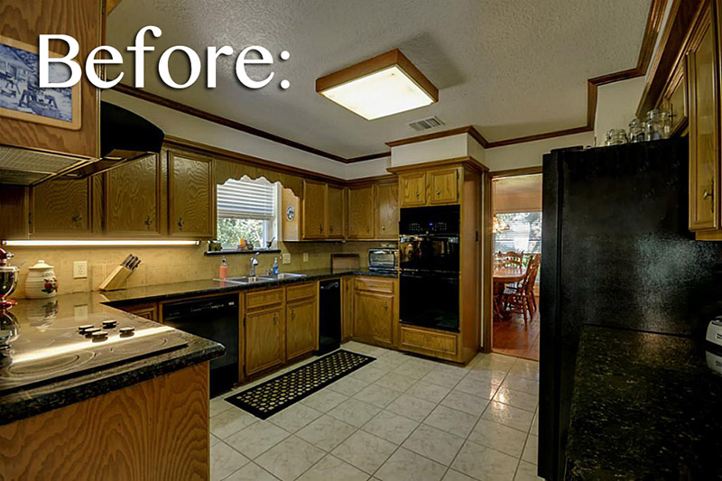 Kitchen Makeover on the Cheap {Part 1}