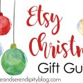 Etsy Christmas Gift Guide