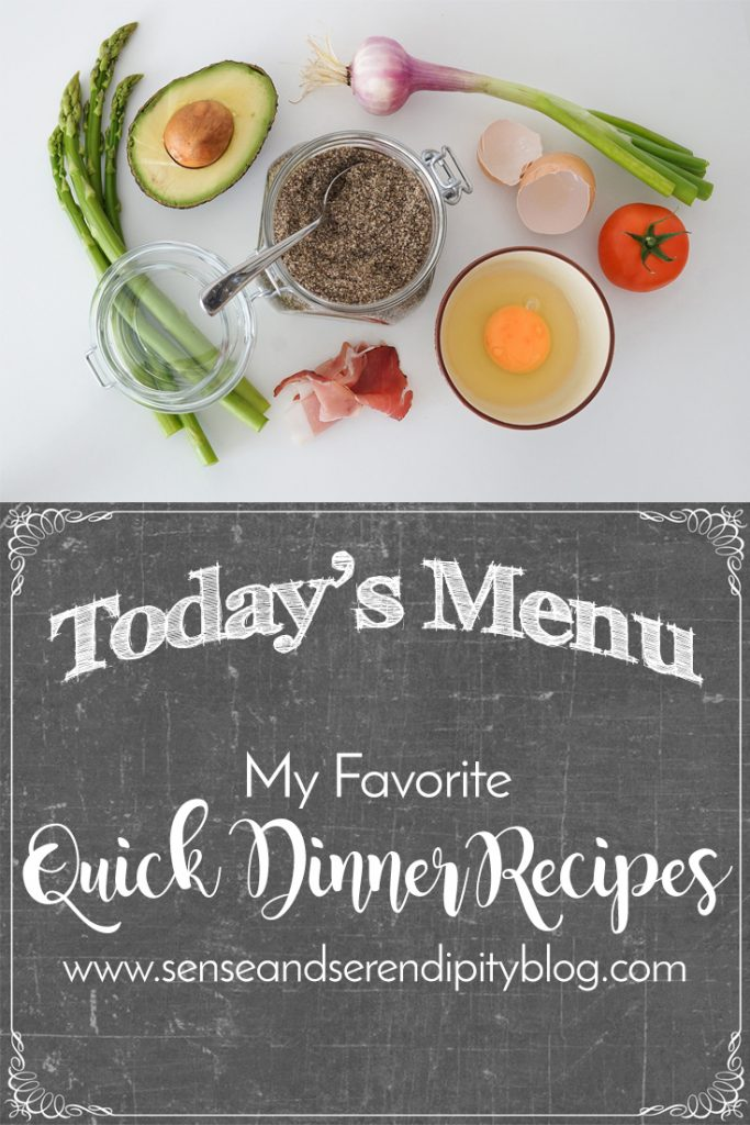 My Favorite Quick Dinner Recipes