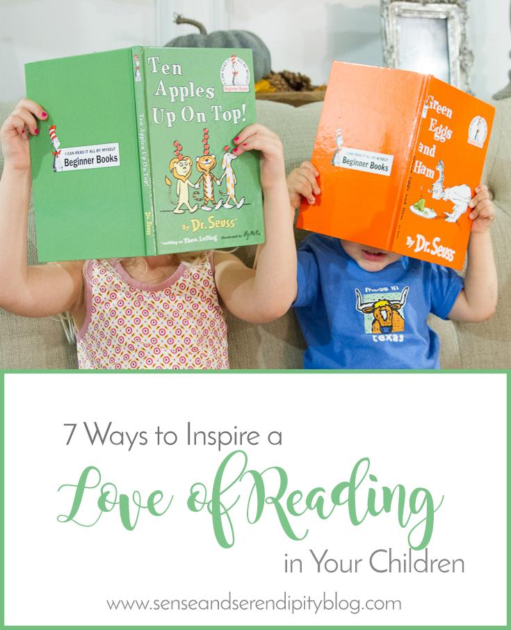 7 Ways to Inspire Love of Reading in Children