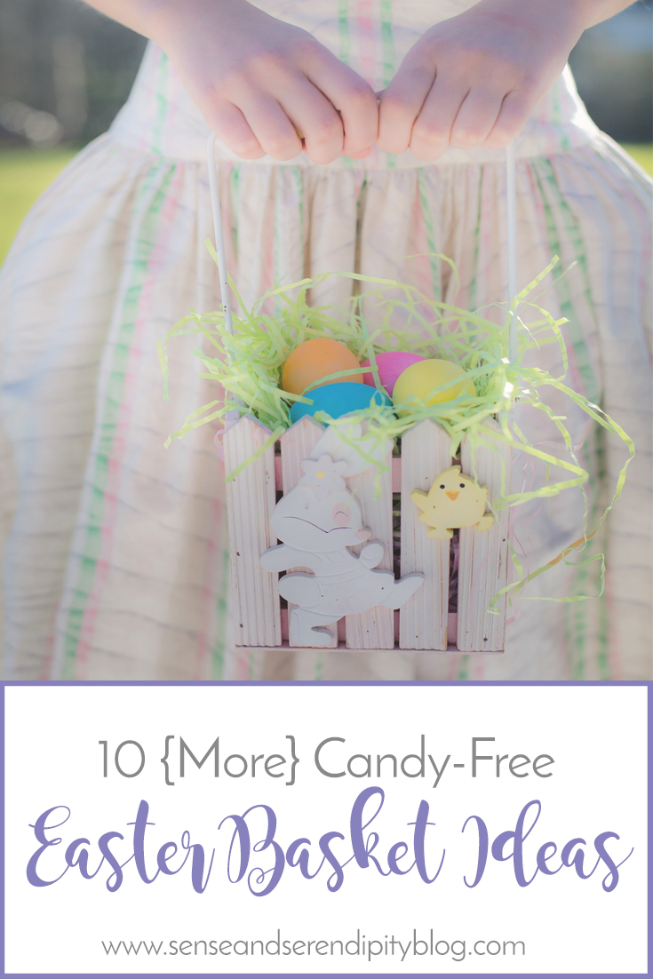 10 More Candy Free Easter Basket Ideas