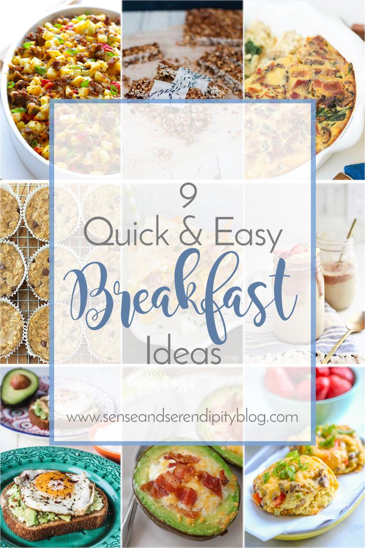 9 Quick & Easy Breakfast Ideas