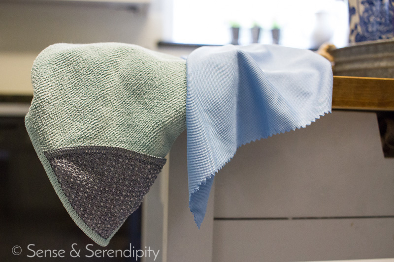 Kitchen Cleaning Products I Can't Live Without | Sense & Serendipity | kitchen cleaning, cleaning products, best cleaning products, e-cloth, microfiber