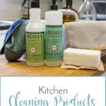 Kitchen Cleaning Products I Can't Live Without {and a GIVEAWAY!}