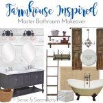 Farmhouse Inspired Master Bath Makeover: The Plan