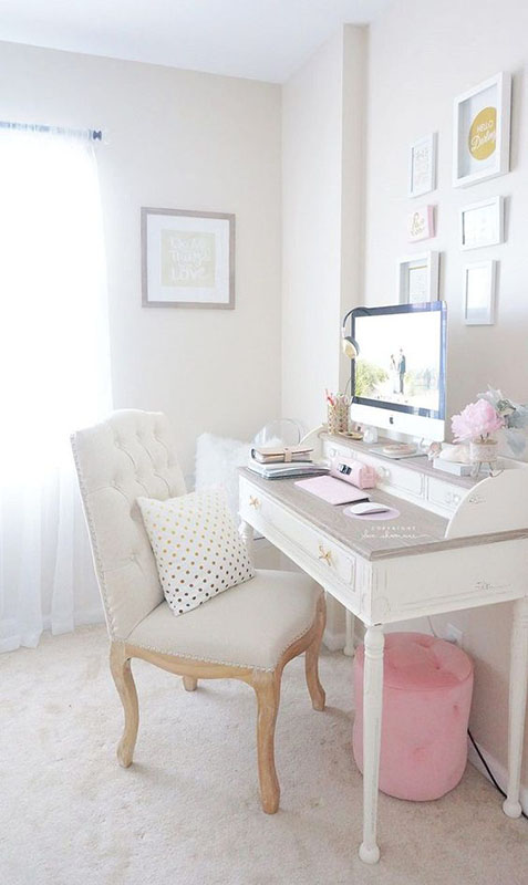 12 Beautiful Home Office Ideas for Small Spaces | Sense ...