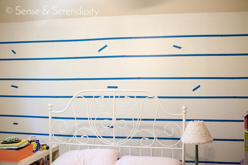 How to Paint Perfect Stripes | Sense & Serendipity