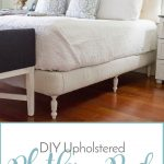 DIY Upholstered Platform Bed