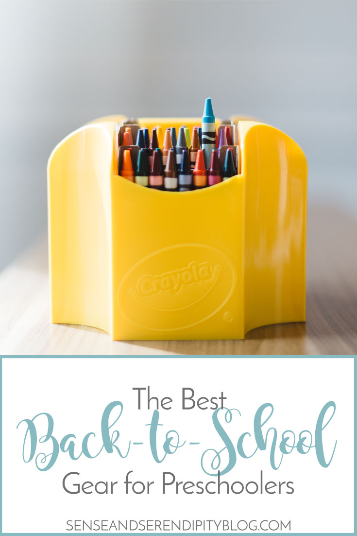 The Best Back to School Gear for Preschoolers | Sense & Serendipity