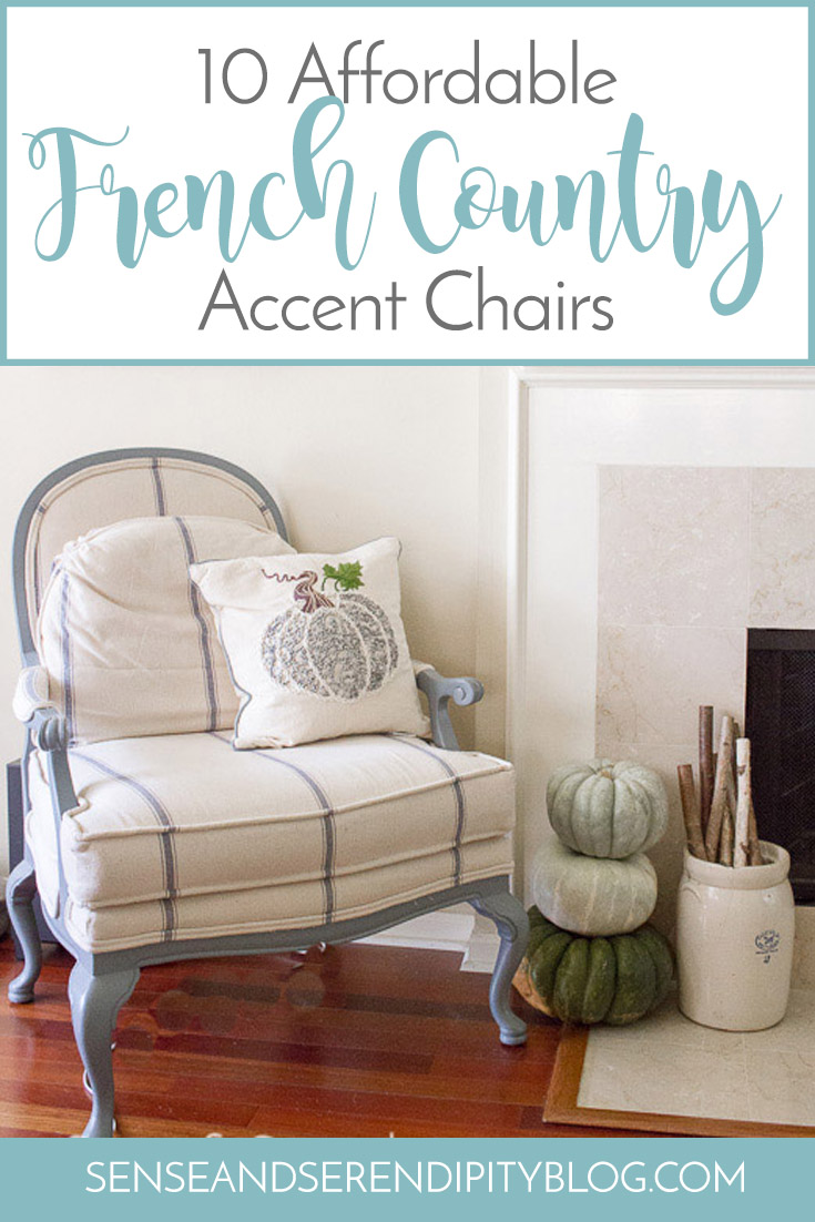 10 Affordable French Country Accent Chairs | Sense & Serendipity
