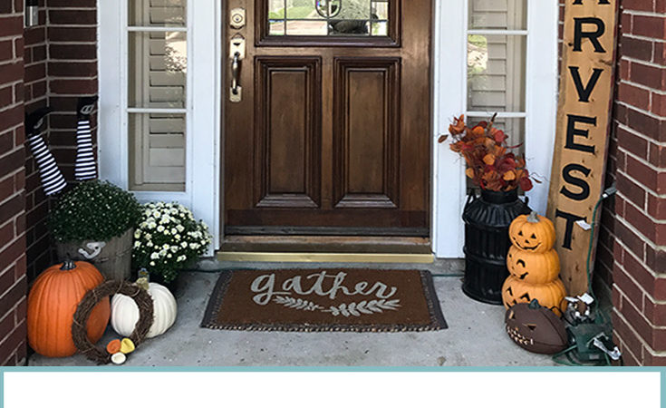Non-Spooky Halloween Home Decor