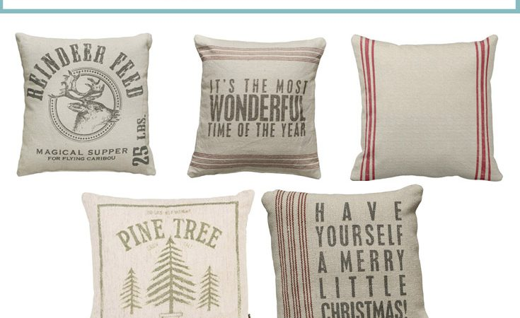 The Best Christmas Pillows and Throws on Amazon