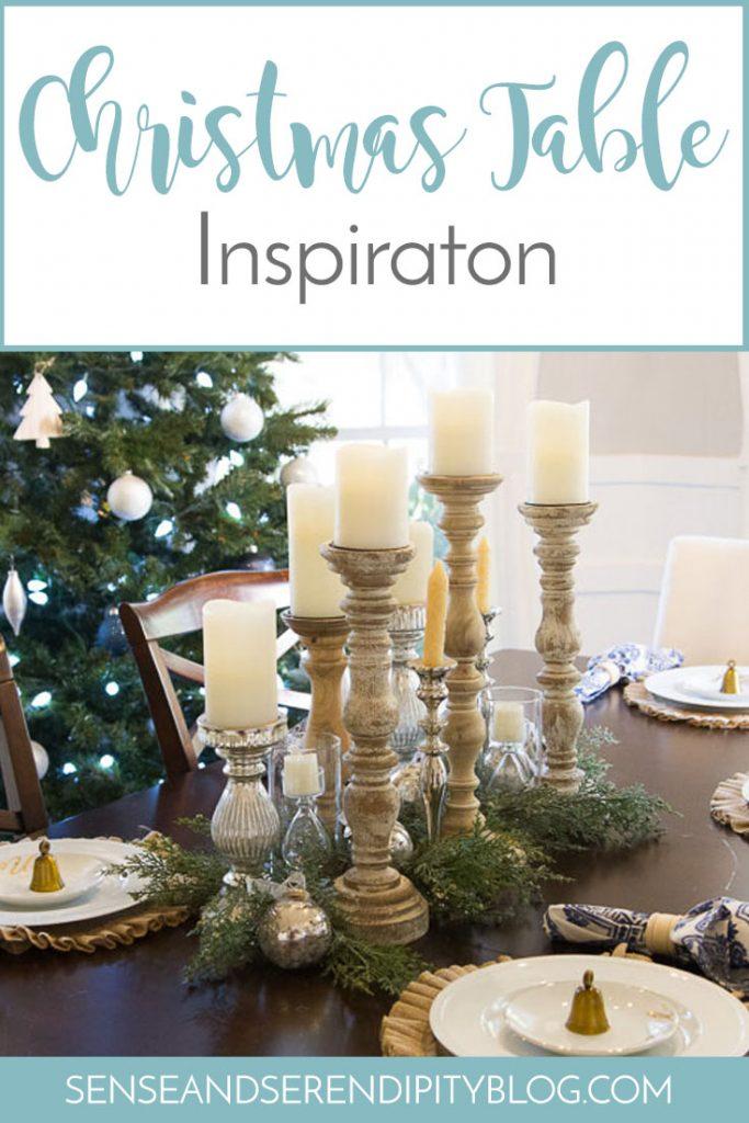Christmas Table Inspiration | Sense & Serendipity