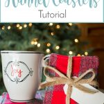 Festive Flannel Coasters Tutorial