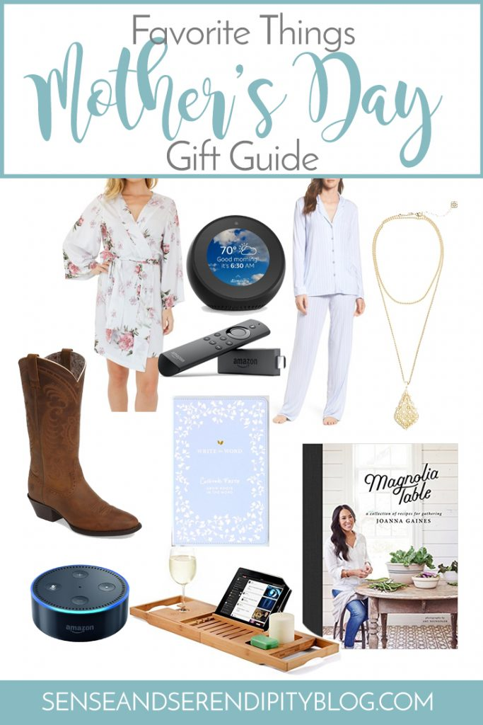 Favorite Things Mother's Day Gift Guide | Sense & Serendipity