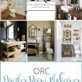 One Room Challenge Powder Room Makeover | Sense & Serendipity