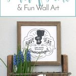 One Room Challenge: The Power of Paint & Fun Wall Art
