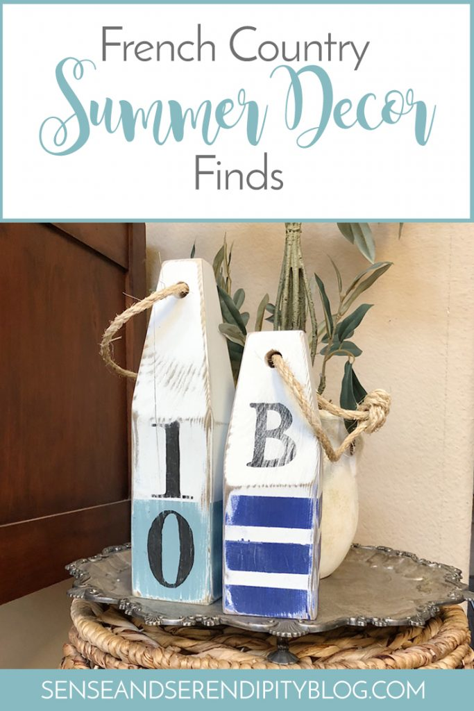 French Country Summer Decor Finds | Sense & Serendipity